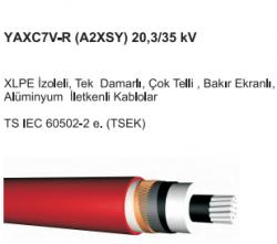 XLPE 1x95/16mm Alüminyum İzoleli Kablo