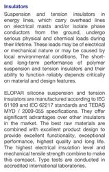 K2 Silikon İzolatör (100kN)