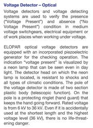 36kV İzole Neon Lambalı Stanka